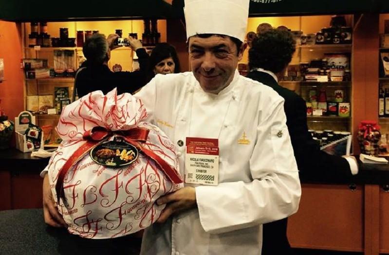 Il pasticcere Fiasconaro simbolo del made in Italy all'estero