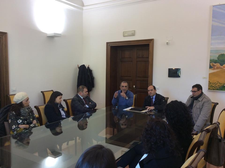 Paternò, incontro con brindisi fra sindaco e giornalisti
