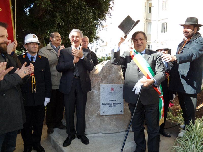 Palermo, inaugurata villetta dedicata a Domenico Modugno