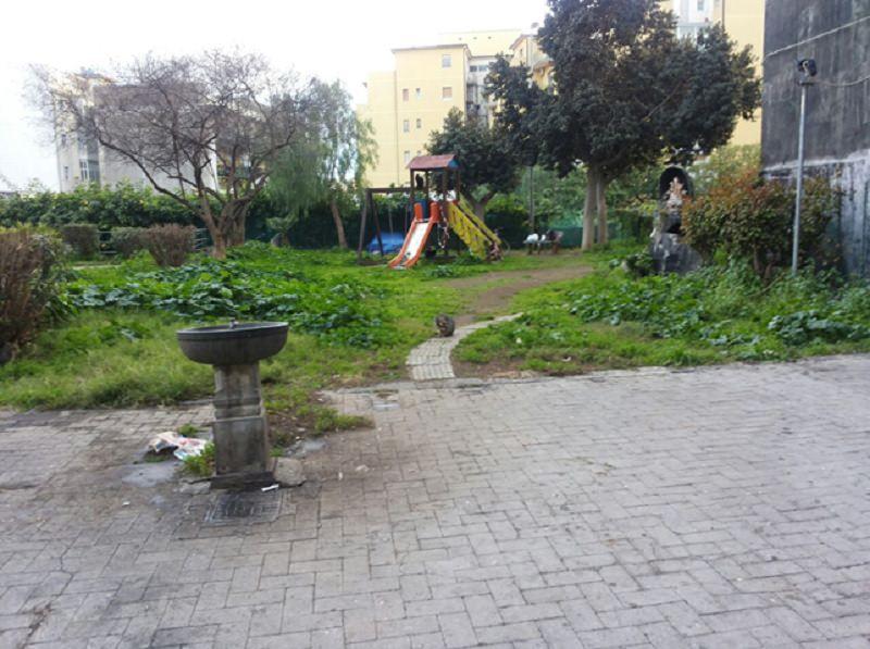 Catania, piazzetta in largo Pasolini necessita di manutenzione
