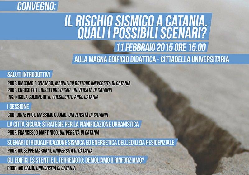 """Rischio sismico a Catania. Convegno sui """"possibili scenari"""""""
