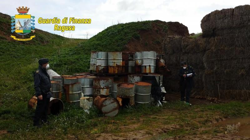 Ragusa, scoperta e sequestrata maxi discarica abusiva di rifiuti