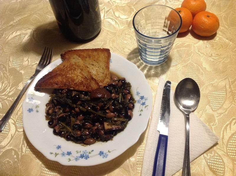 Zuppa di fagioli Badda