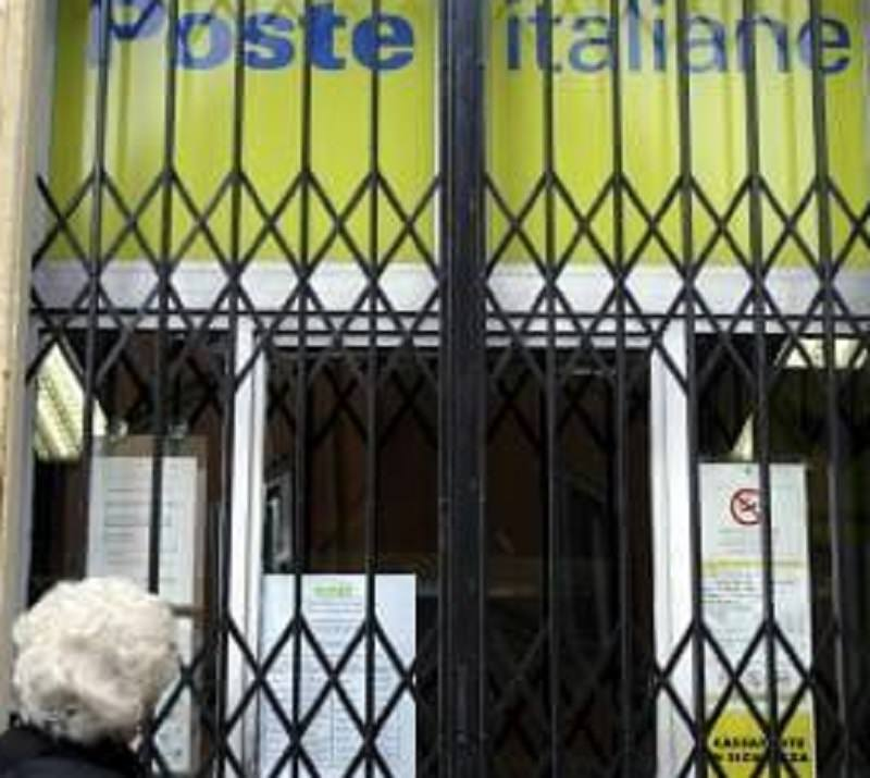 Imminente chiusura di 27 uffici postali in Sicilia