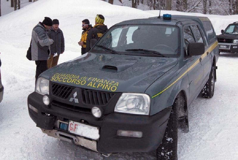 Padre e figlia tratti in salvo sulla neve dal soccorso alpino di Nicolosi