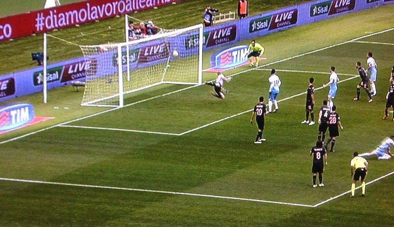 La Lazio batte il Palermo. Ma rosanero a testa alta