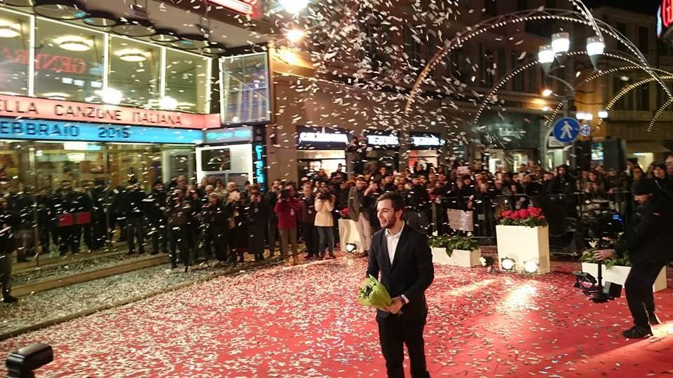 Lorenzo Fragola a Sanremo con una canzone d'amore