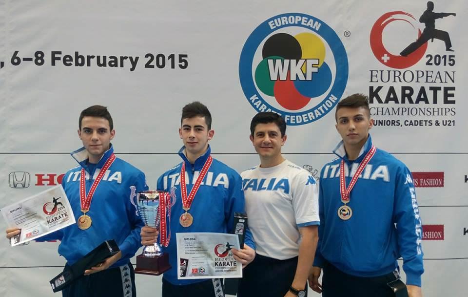Il giovane Giuseppe Panagia medaglia di bronzo agli Europei di Zurigo