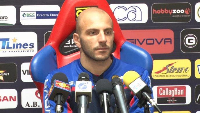 """Catania, Rosina: """"Ho fiducia in questa squadra, a Pescara per vincere"""""""