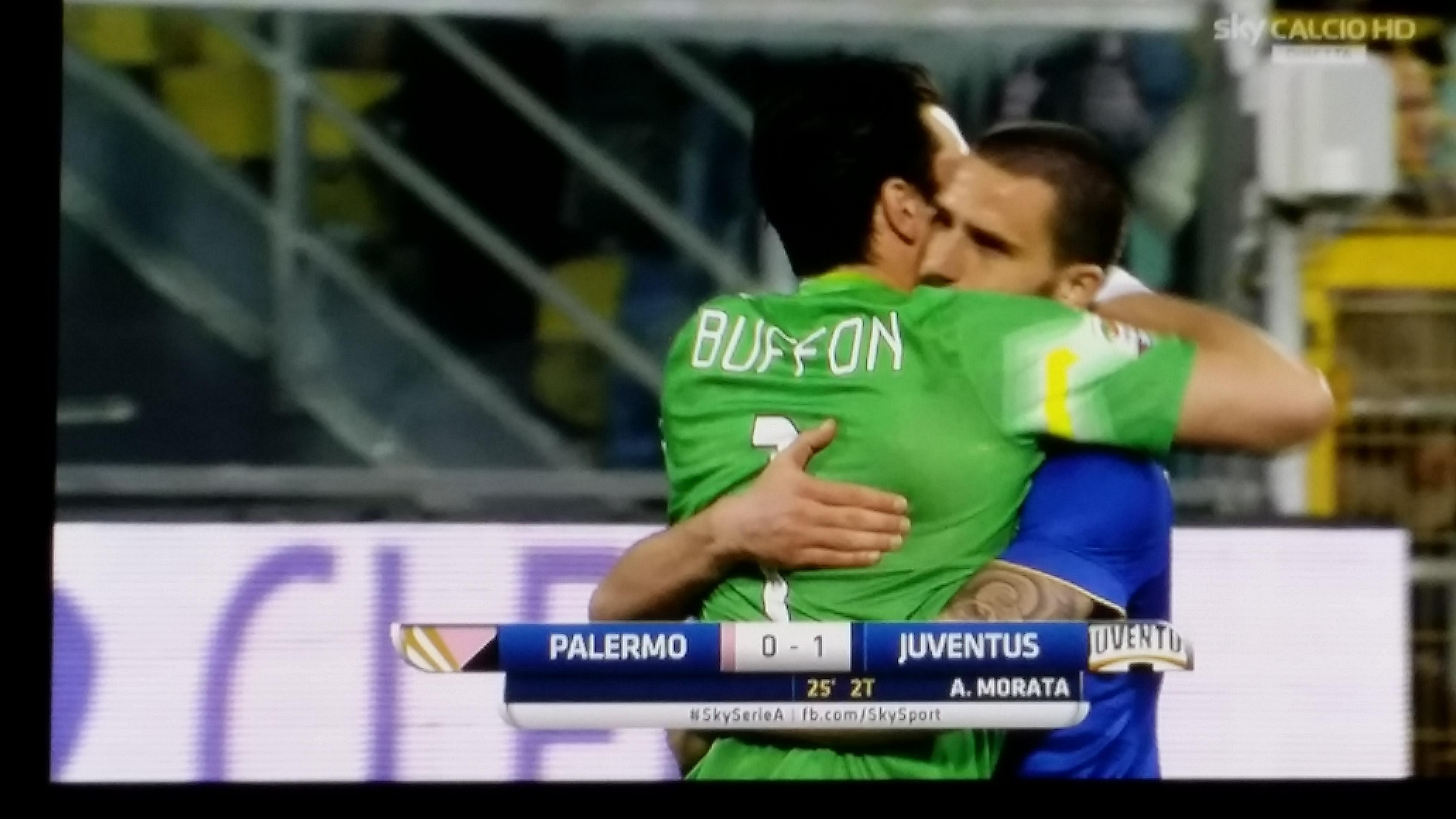 Palermo, fallisce l'impresa. Morata fa volare la Juve