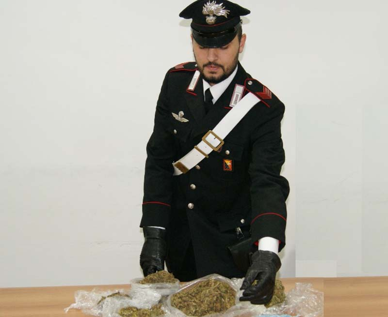 Palermo, controlli antidroga a tappeto dei Carabinieri
