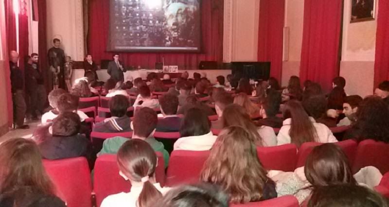 Lezioni di legalità al Liceo Scientifico Boggio Lera di Catania