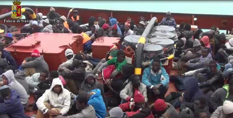 Pozzallo, determinante l'aiuto dei profughi per arresto di scafista tunisino