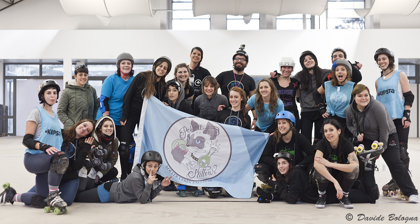 Nuove leve per le Poison Kittens Roller Derby