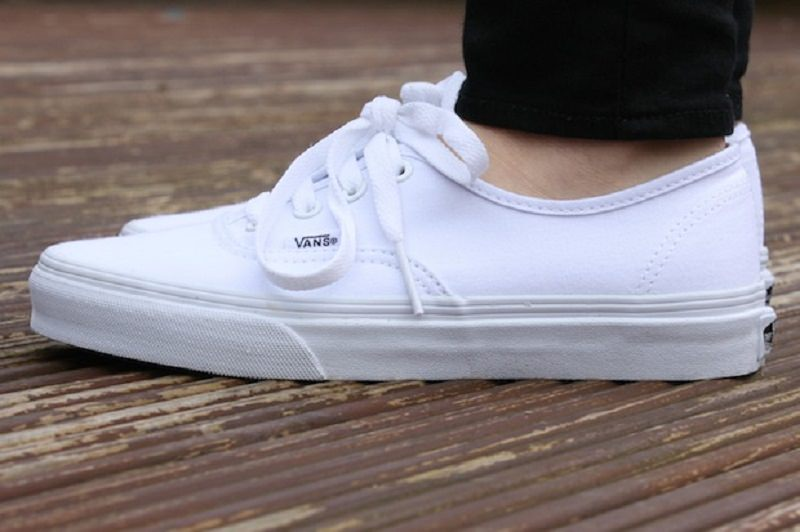 Must have: white sneakers