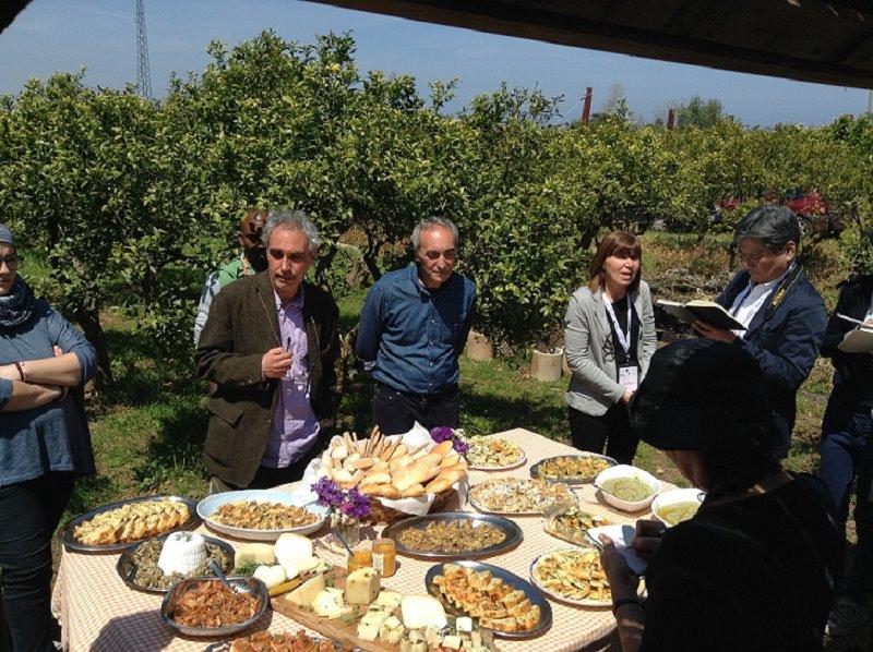 """Tredici giornalisti esteri sulla """"via della zagara"""" siciliana"""