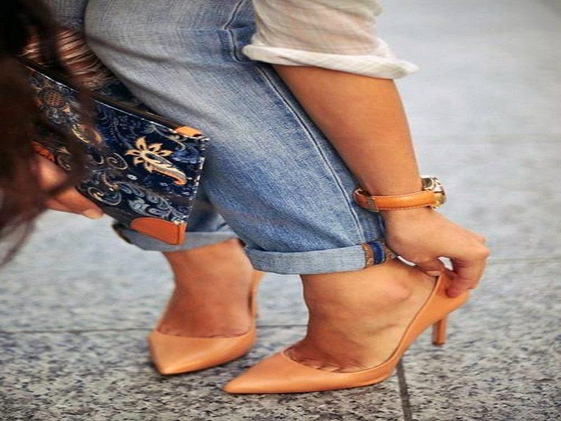 """Gli """"odiati"""" risvoltini dei jeans"""