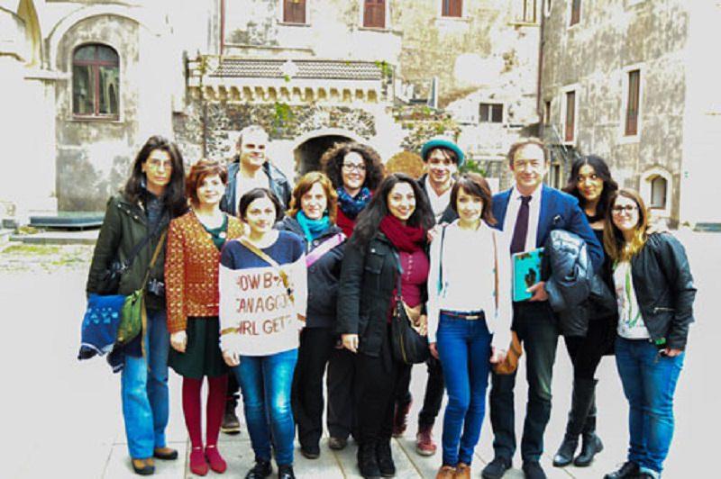 """Inaugurata mostra """"Catania città delle donne"""""""