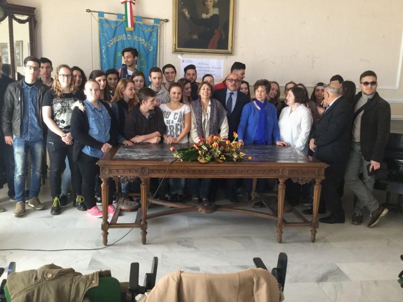 A Riposto delegazione di studenti francesi