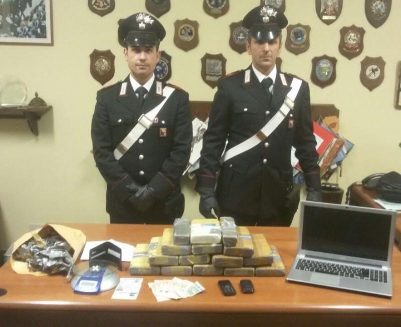 Palermo, arrestato pusher con 14 chili di cocaina