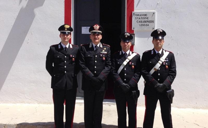 Comandante dei carabinieri a Linosa e Lampedusa