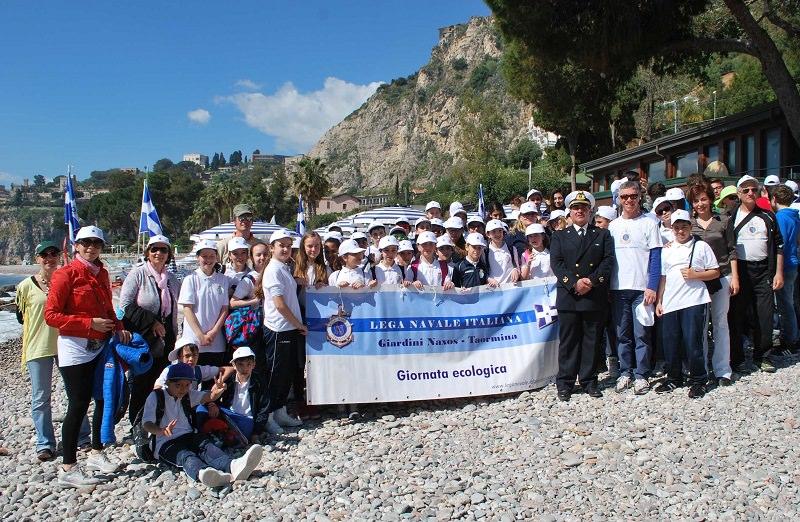 """Taormina, oltre 150 studenti protagonisti della giornata """"Un Mare da Amare"""""""