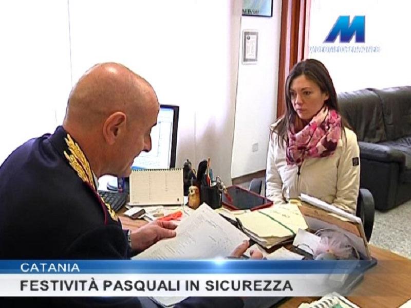 Catania, festività in sicurezza: bilancio positivo