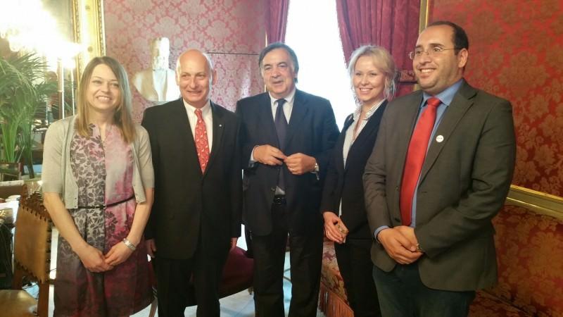 A Palermo gli ambasciatori di Polonia ed Estonia