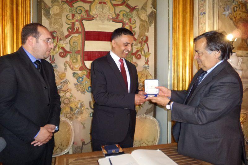 Palermo, Orlando incontra l'ambasciatore libico Al Awami
