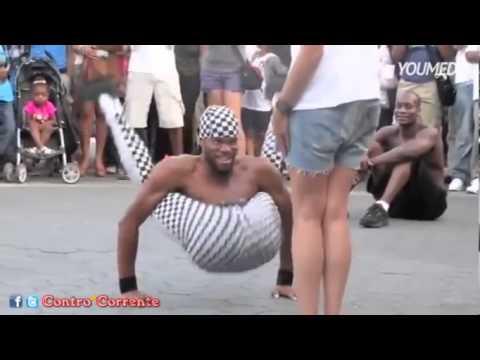 Artista di strada o uomo di gomma? GUARDA Il VIDEO e stupisciti!