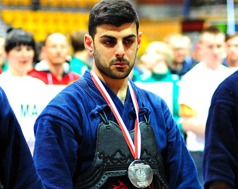 Il catanese Demetrio Orlando ai mondiali di kendo in Giappone