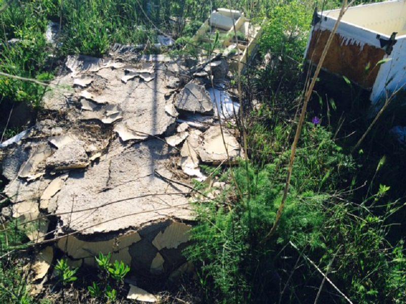 Scoperta discarica abusiva a Chiaramonte Gulfi