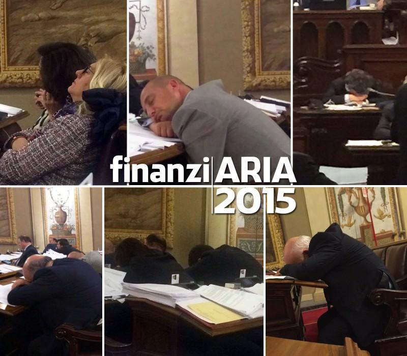 """Ars, grillini denunciano le """"dormite"""" durante la Finanziaria"""