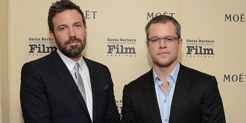 Matt Damon e Ben Affleck al cinema con lo scandalo Fifa