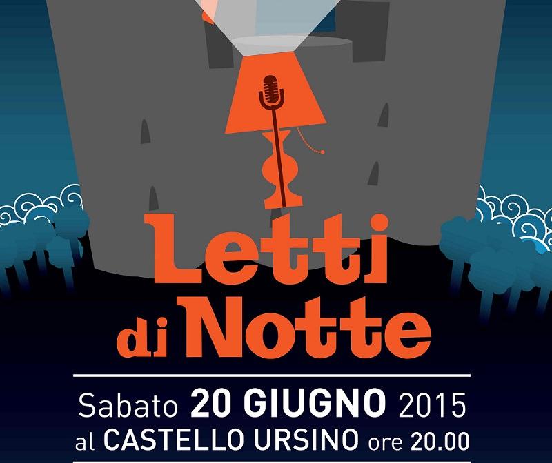 """""""Letti di Notte"""" illuminando di parole il Castello Ursino"""