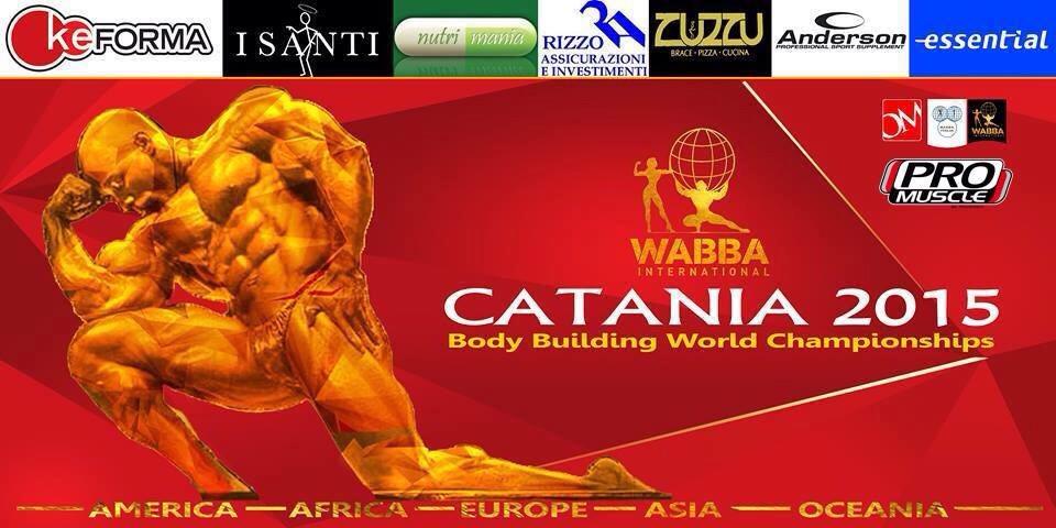 Ad Acireale oggi e domani i campionati mondiali di body building