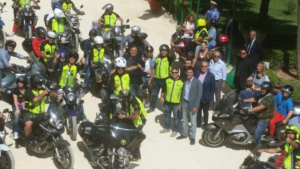 """A Palermo """"in moto contro le barriere"""""""