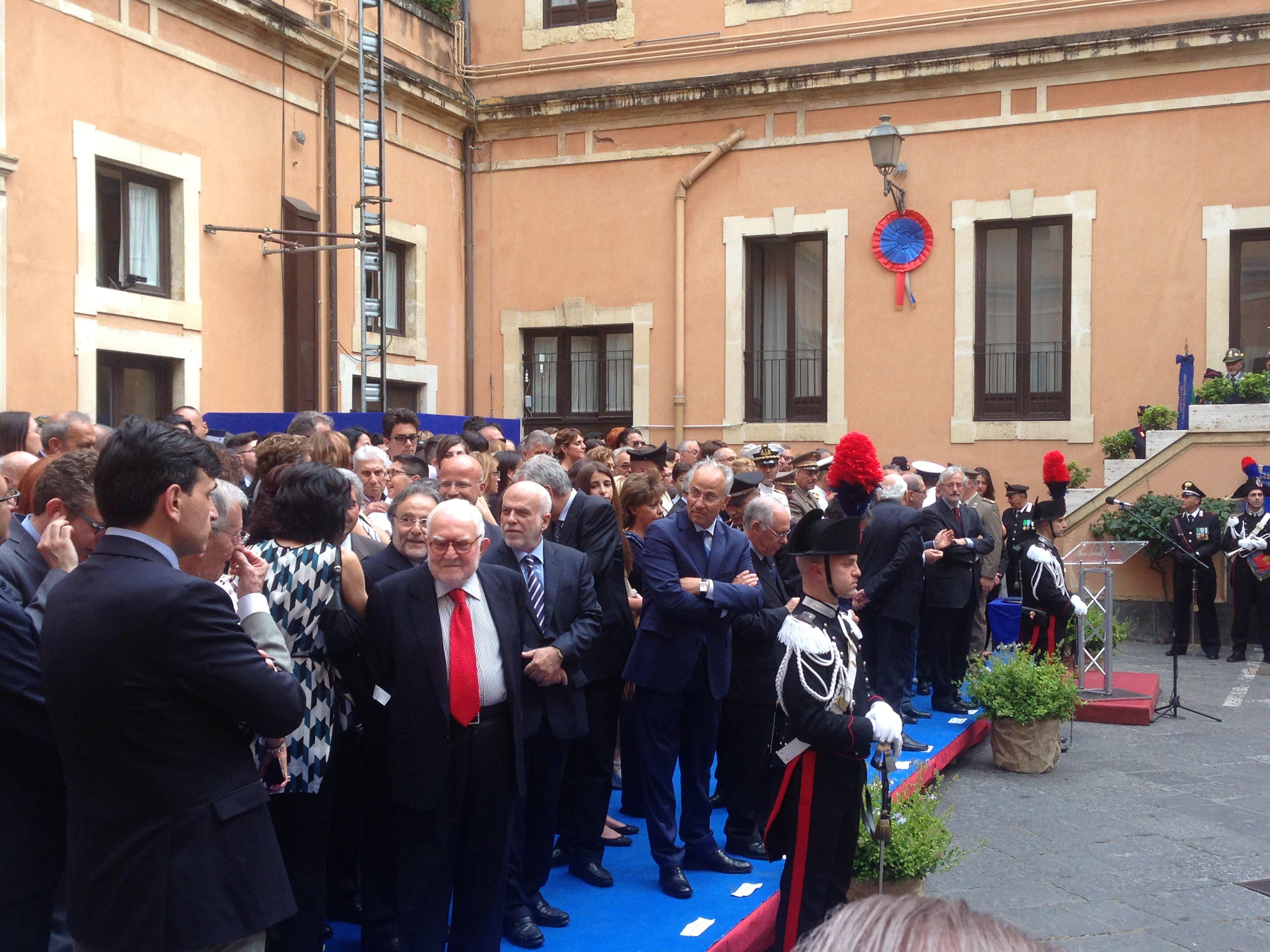 Festa dell'Arma: la celebrazione dei carabinieri di Catania
