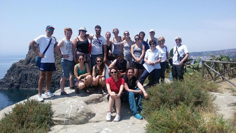 Cutgana: studenti e docenti svizzeri in visita all'isola Lachea