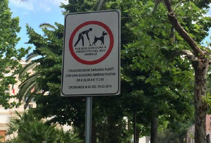 Belpasso, villa comunale: sanzioni per chi la sporca