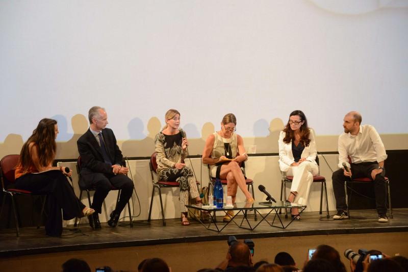 """Ellen Pompeo al TaoFilmFest 2015: """"Non lascio Grey's Anatomy"""""""