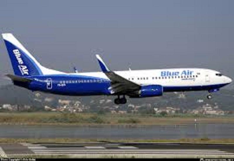 Blue Air torna a volare dal 15 giugno: tra le destinazioni anche Catania