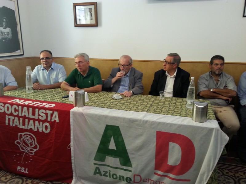 """Vittoria, Aiello incassa il sostegno del Partito Socialista: """"Tiriamo fuori la città dal pantano"""""""