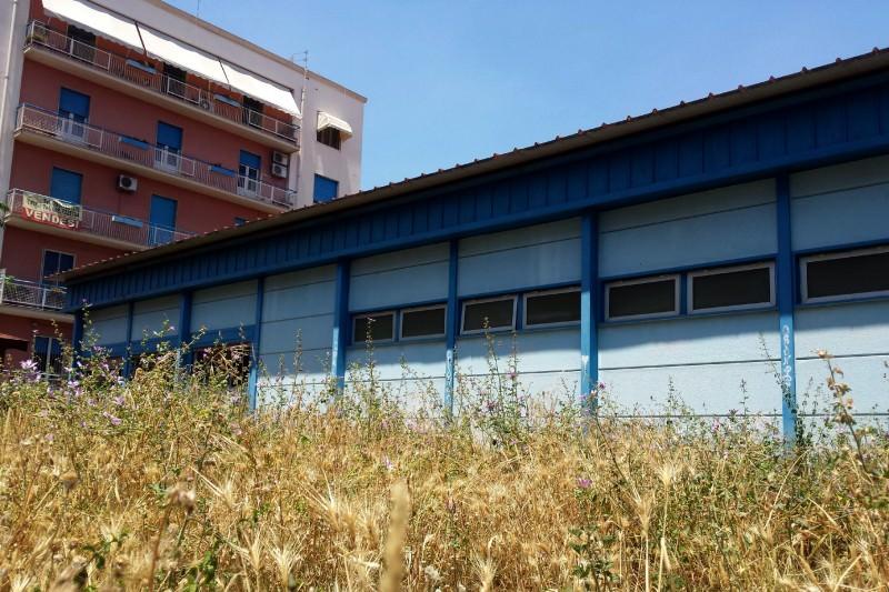 """Catania, ancora erbacce nel cortile dell'asilo """"Papavero"""""""