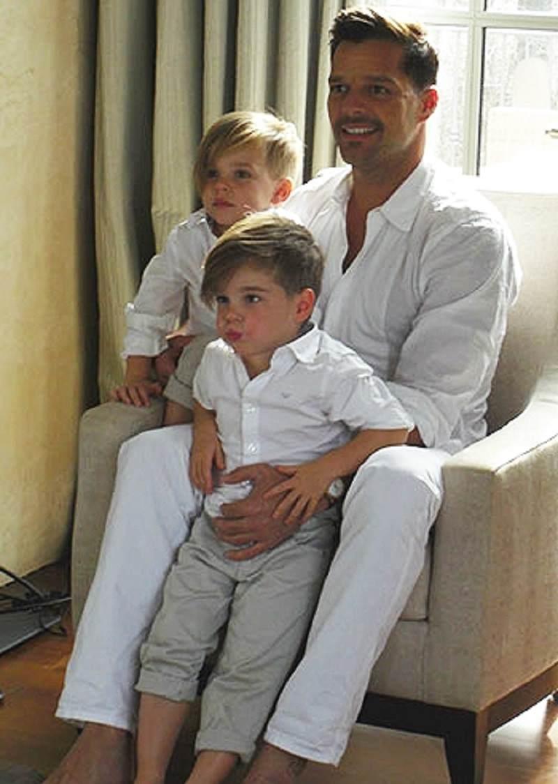 Ricky Martin e la lettera ai figli