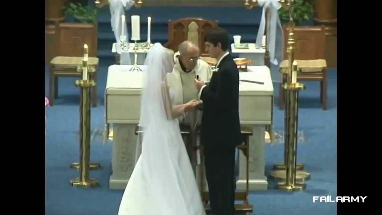 Figuracce ai matrimoni: VIDEO DIVERTENTE