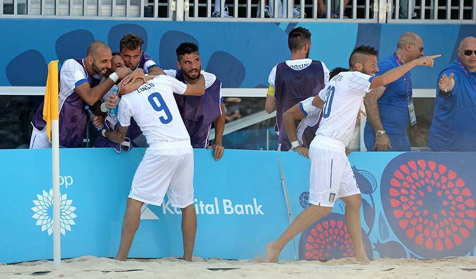Giochi di Baku, Zurlo ancora a segno e l'Italia va in semifinale
