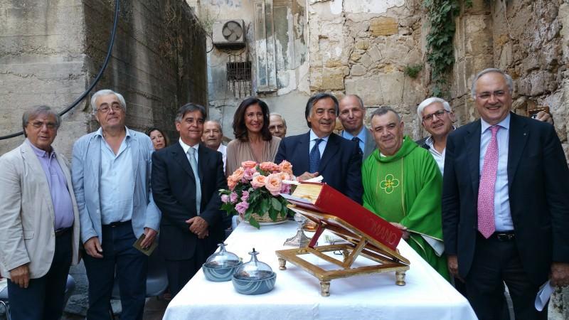 Palermo, prima Messa nella restaurata chiesa di Sant'Eligio