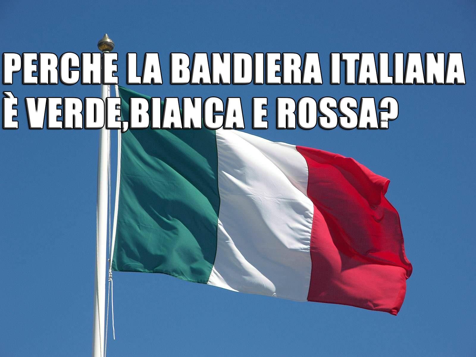 Tricolore italiano: storia della bandiera   VIDEO