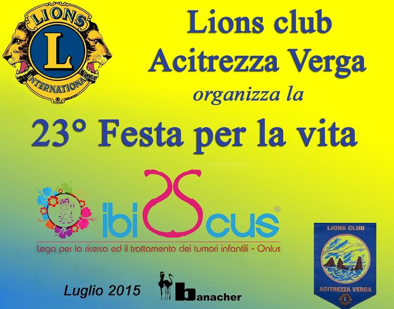 """""""Festa per la vita"""", Lions al Banacher per beneficenza"""